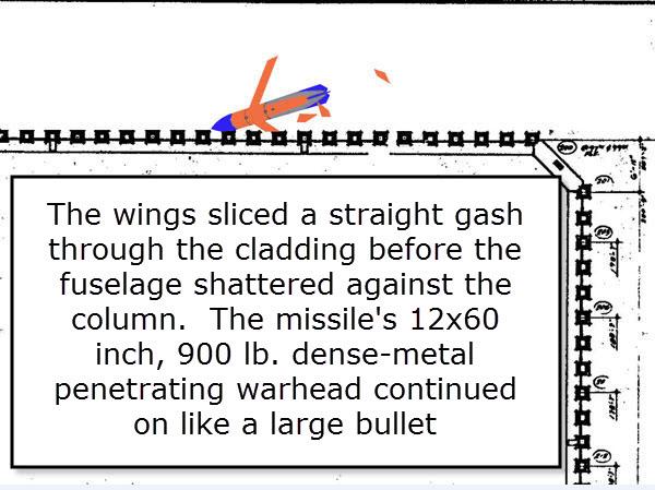 fuselage shatters